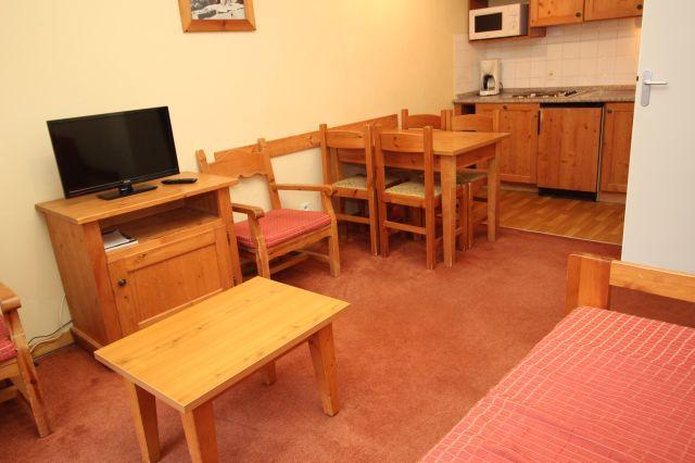 Location au ski Appartement 2 pièces 4 personnes (231) - Chalets Du Thabor - Valfréjus - Séjour