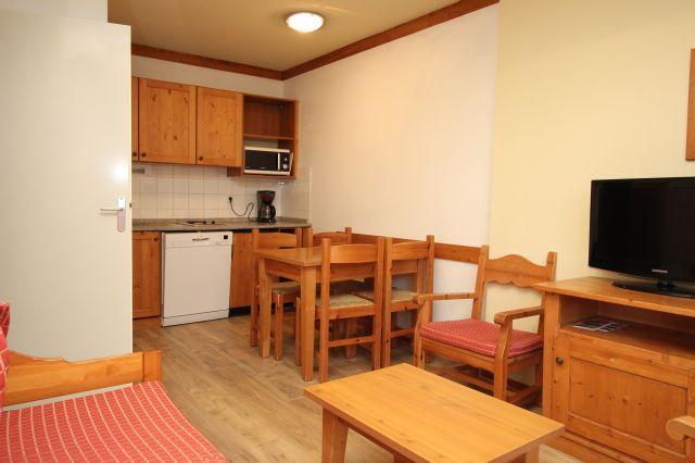 Location au ski Appartement 2 pièces 4 personnes (A9) - Chalets Du Thabor - Valfréjus - Canapé-lit