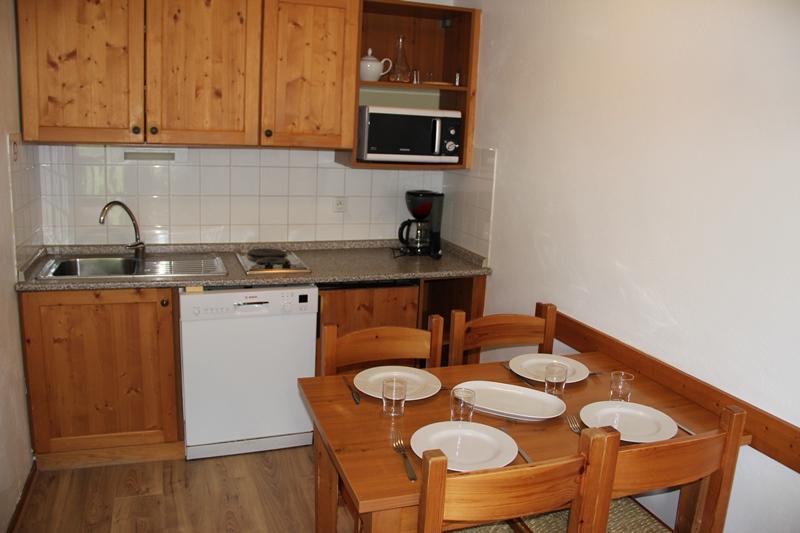 Location au ski Appartement 2 pièces 4 personnes (A9) - Chalets Du Thabor - Valfréjus - Coin repas
