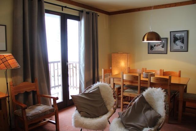 Location au ski Appartement 3 pièces coin montagne 8 personnes (118) - Chalets Du Thabor - Valfréjus - Coin repas