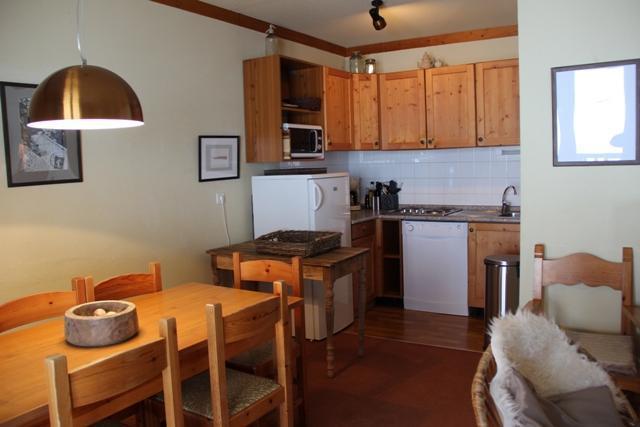 Location au ski Appartement 3 pièces coin montagne 8 personnes (118) - Chalets Du Thabor - Valfréjus - Cuisine
