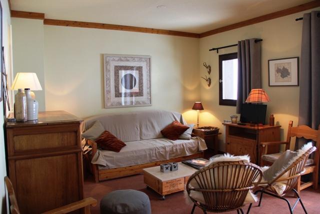 Location au ski Appartement 3 pièces coin montagne 8 personnes (118) - Chalets Du Thabor - Valfréjus - Séjour