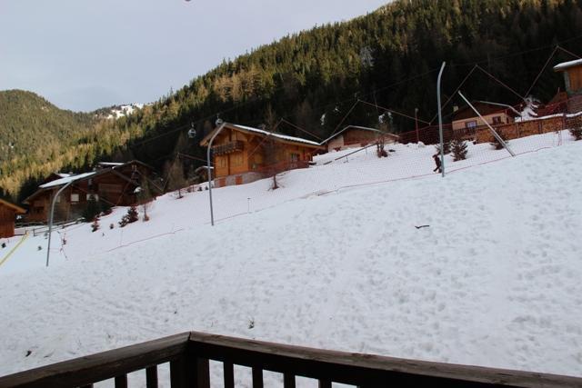 Location au ski Appartement 3 pièces coin montagne 8 personnes (118) - Chalets Du Thabor - Valfréjus - Extérieur hiver