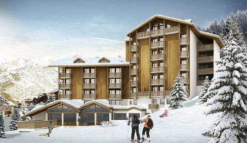 Accommodation with swmimming pool Hotel Club Du Soleil Valfrejus