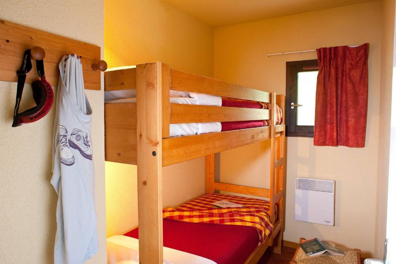 Location au ski Appartement 2 pièces cabine 6 personnes (BBT) - Les Chalets Du Thabor - Valfréjus - Lits superposés