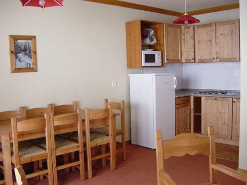 Location au ski Appartement 3 pièces 8 personnes (BCT) - Les Chalets Du Thabor - Valfréjus - Cuisine ouverte