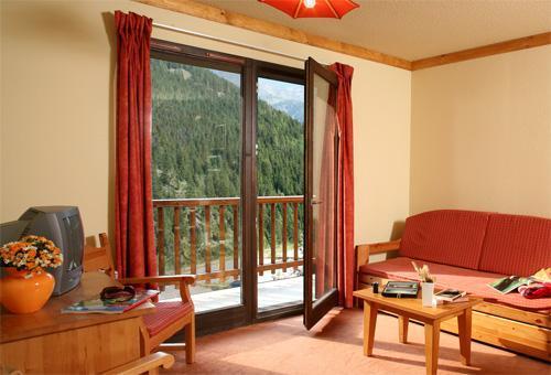 Location au ski Appartement 3 pièces 8 personnes (BCT) - Les Chalets Du Thabor - Valfréjus - Séjour