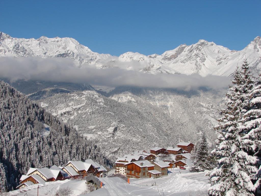 Location au ski Studio cabine 4 personnes (26) - Residence Chaviere - Valfréjus - Extérieur hiver