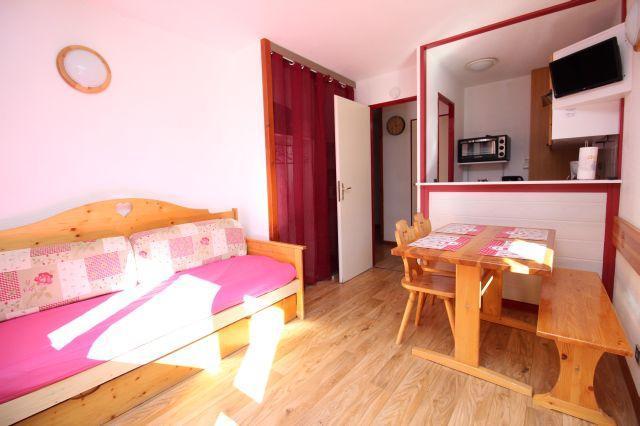 Location au ski Studio cabine 4 personnes (24) - Residence Chaviere - Valfréjus - Séjour