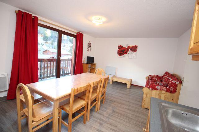 Location au ski Appartement 3 pièces 8 personnes (04) - Residence Grand Argentier - Valfréjus - Extérieur hiver