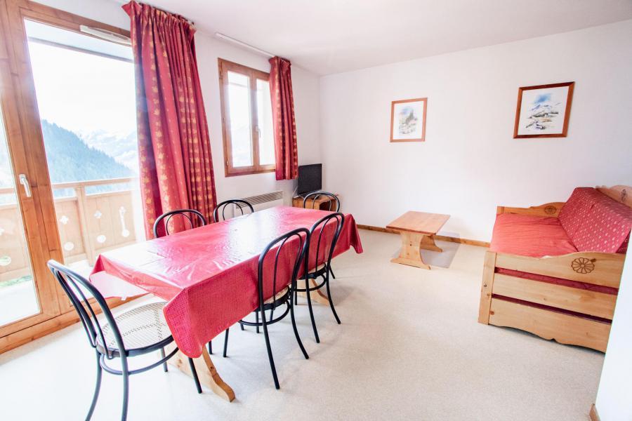 Аренда на лыжном курорте Апартаменты 2 комнат кабин 6 чел. (H22) - Chalet d'Arrondaz - Valfréjus - Салон