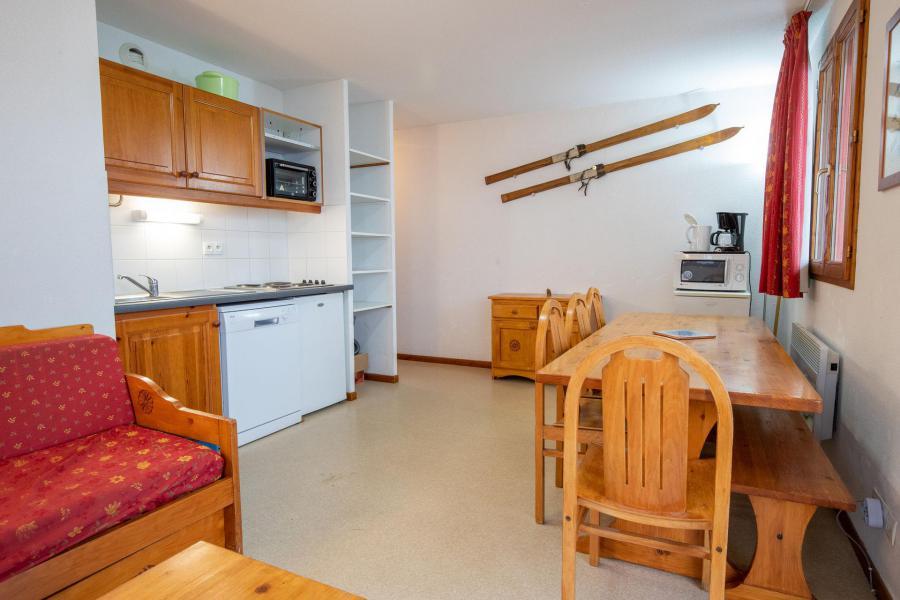 Аренда на лыжном курорте Апартаменты 4 комнат 8 чел. (H21) - Chalet d'Arrondaz - Valfréjus - Салон