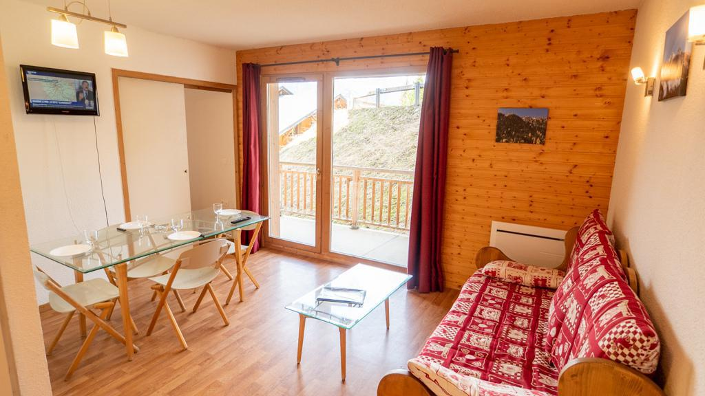 Аренда на лыжном курорте Апартаменты 2 комнат 4 чел. (оборудованный PMR) (17) - Chalet de Florence - Valfréjus - Салон