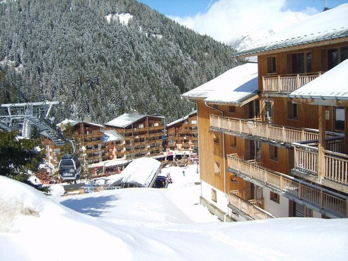 Vacances en montagne Chalet de Florence - Valfréjus - Extérieur hiver