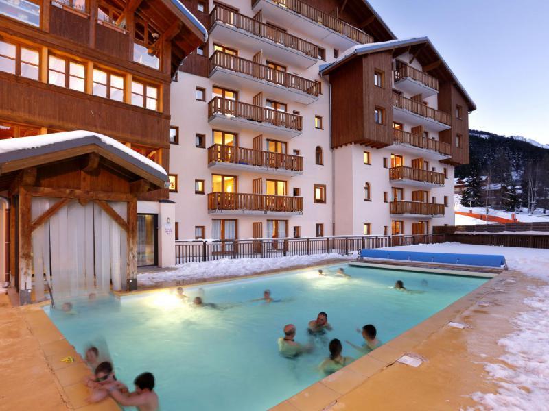 Vacaciones en montaña La Turra - Valfréjus - Invierno