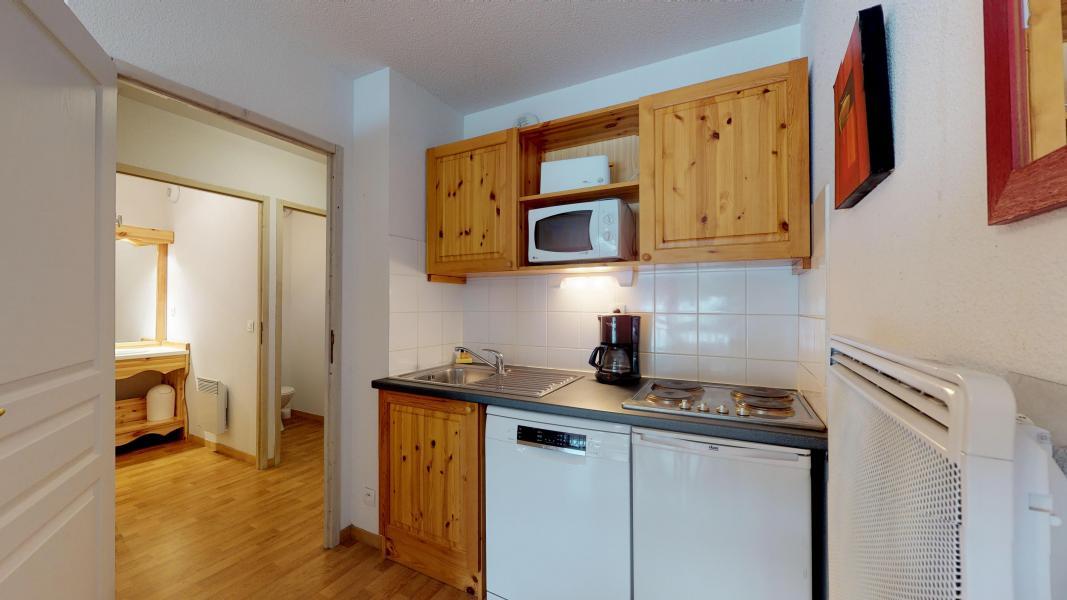 Rent in ski resort 2 room apartment 4 people - Les Chalets de Florence - Valfréjus - Kitchen