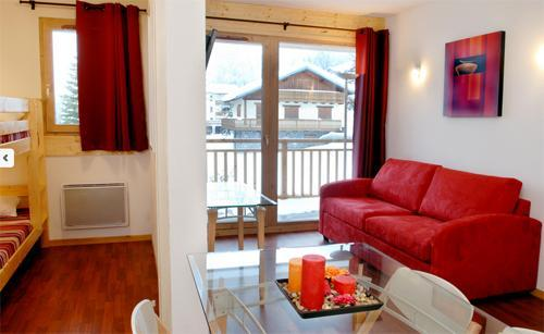 Location au ski Les Chalets De Florence - Valfréjus - Séjour