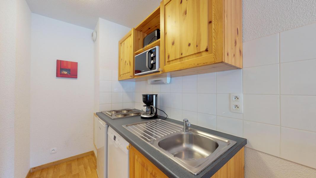 Rent in ski resort Studio cabin 4 people - Les Chalets de Florence - Valfréjus - Kitchen