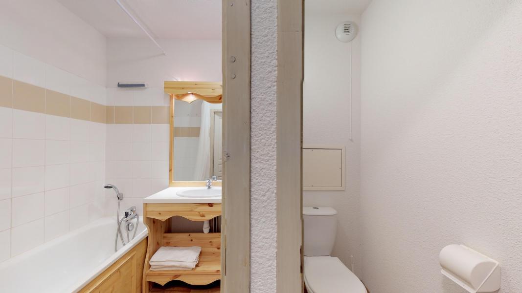 Location au ski Studio cabine 4 personnes - Les Chalets de Florence - Valfréjus - Salle de bains