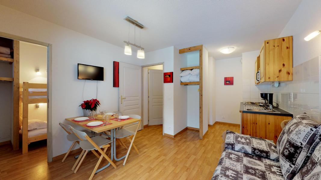 Location au ski Studio cabine 4 personnes - Les Chalets de Florence - Valfréjus - Séjour