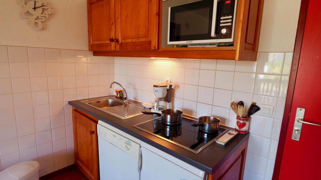 Аренда на лыжном курорте Апартаменты 2 комнат 4 чел. (10) - Résidence Cheval Blanc - Valfréjus - Кухня