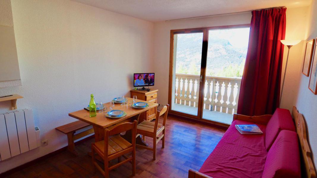 Аренда на лыжном курорте Апартаменты 2 комнат 4 чел. (10) - Résidence Cheval Blanc - Valfréjus - Салон