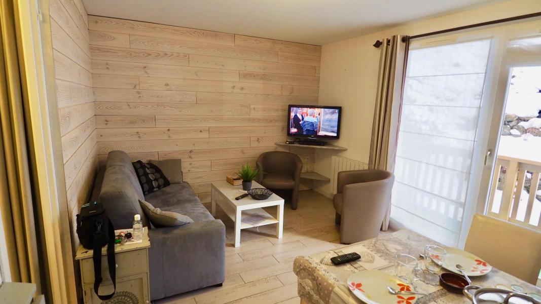 Аренда на лыжном курорте Апартаменты 2 комнат кабин 6 чел. (105) - Résidence Cheval Blanc - Valfréjus - Диван