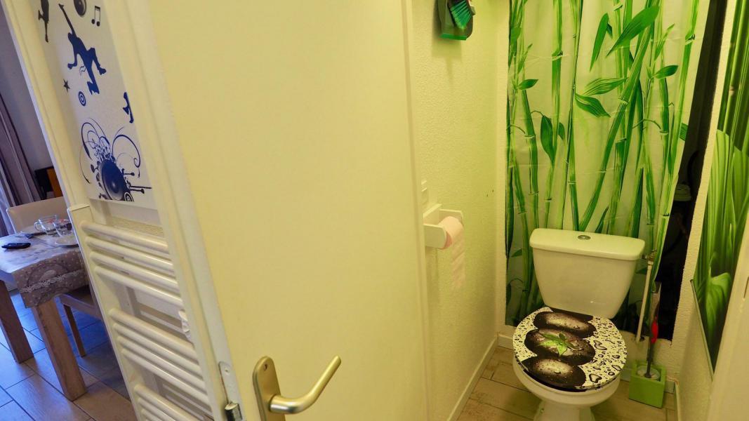 Аренда на лыжном курорте Апартаменты 2 комнат кабин 6 чел. (105) - Résidence Cheval Blanc - Valfréjus - Туалет