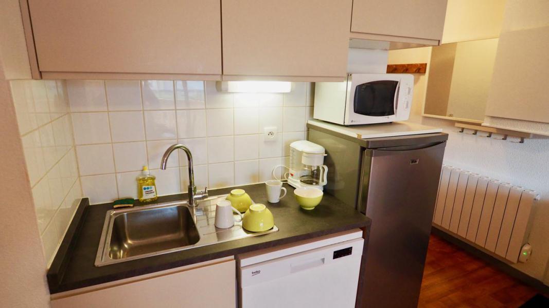 Аренда на лыжном курорте Апартаменты 3 комнат 6 чел. (44) - Résidence Cheval Blanc - Valfréjus - Кухня
