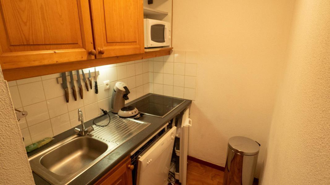Аренда на лыжном курорте Апартаменты 3 комнат 6 чел. (62) - Résidence Cheval Blanc - Valfréjus - Кухня