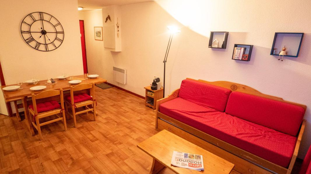 Аренда на лыжном курорте Апартаменты 3 комнат 6 чел. (62) - Résidence Cheval Blanc - Valfréjus - Салон