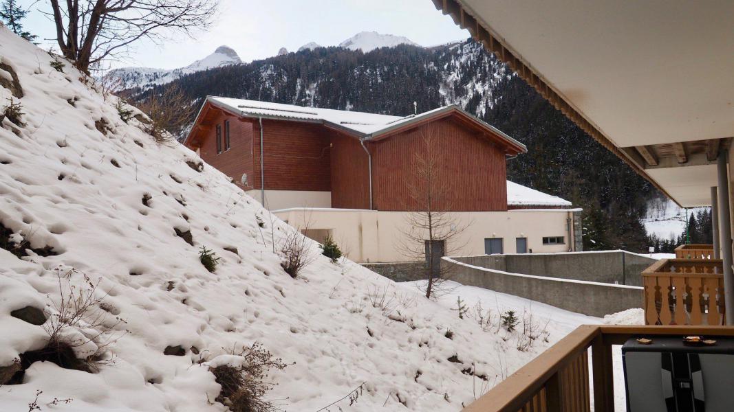 Vacances en montagne Appartement 2 pièces cabine 6 personnes (105) - Résidence Cheval Blanc - Valfréjus - Extérieur hiver