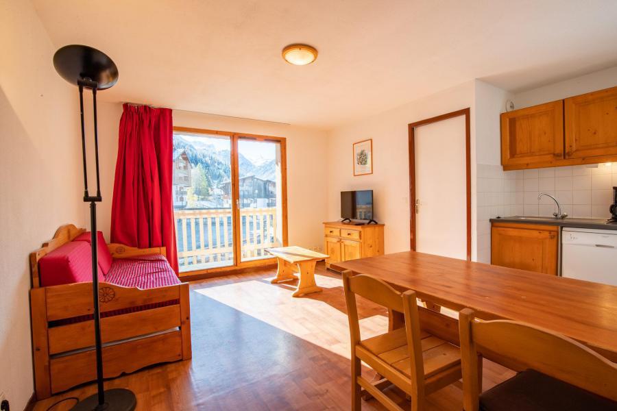 Аренда на лыжном курорте Апартаменты 2 комнат кабин 6 чел. (53) - Résidence du Cheval Blanc - Valfréjus - Салон