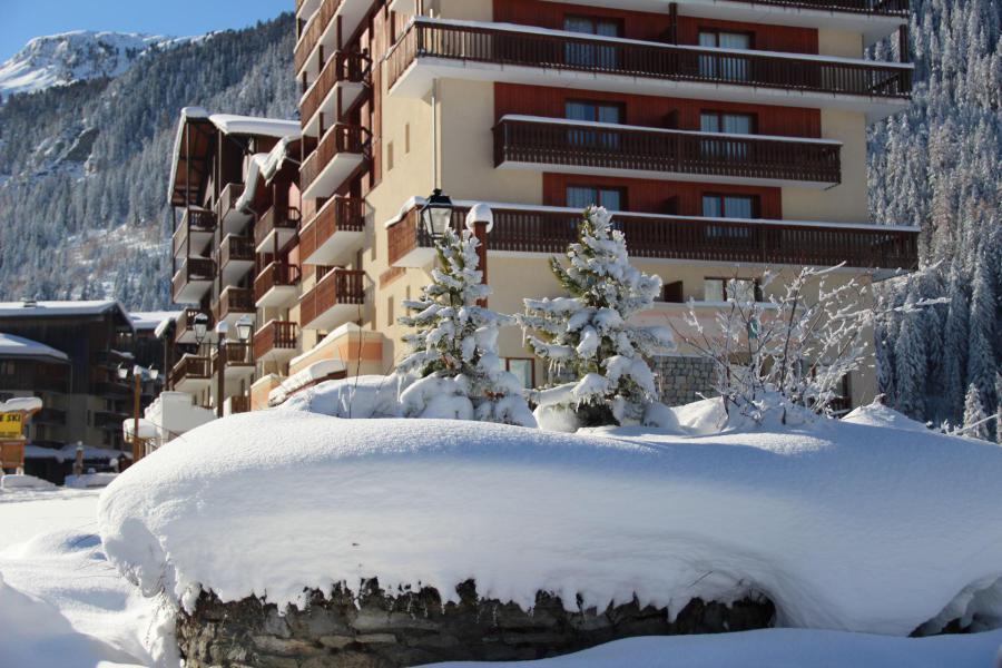 Аренда на лыжном курорте Résidence Grand Argentier - Valfréjus - зимой под открытым небом