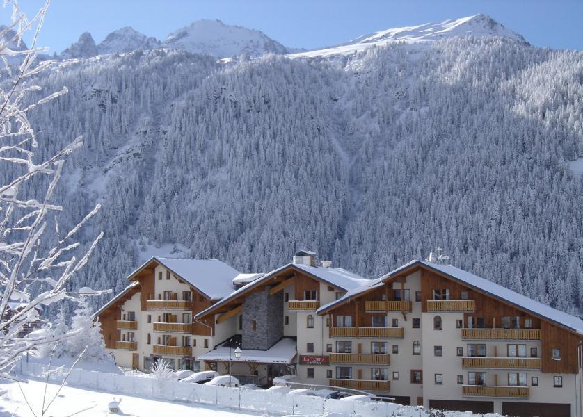 Vacances en montagne Résidence la Turra - Valfréjus - Extérieur hiver