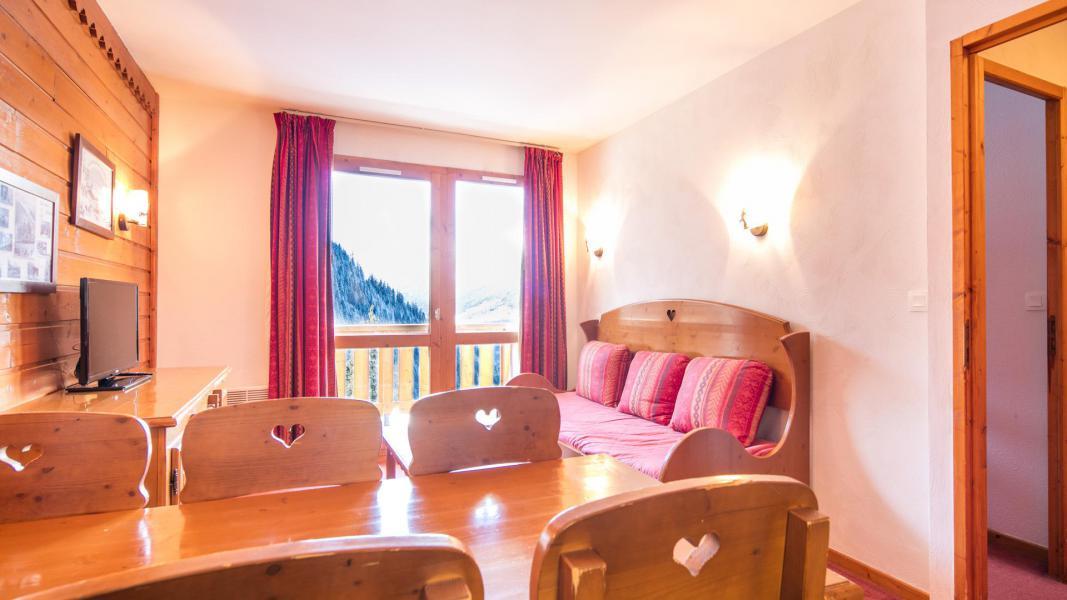 Location au ski Résidence la Turra - Valfréjus - Coin séjour