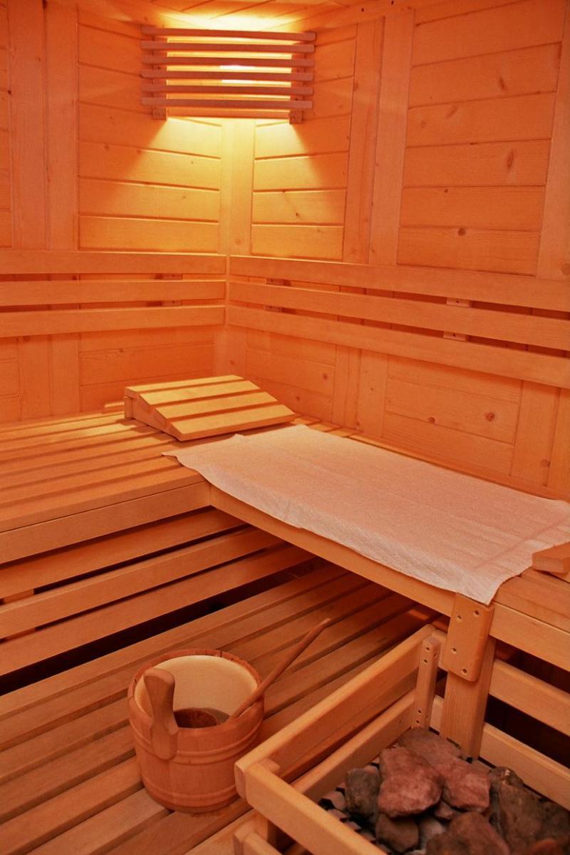 Location au ski Résidence la Turra - Valfréjus - Sauna