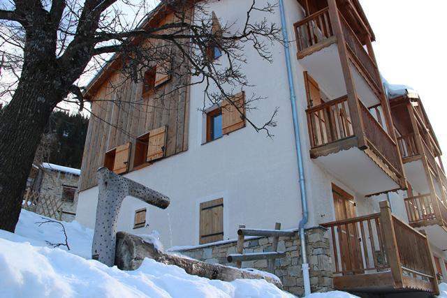 Location au ski Residence Le Belvedere Busseroles - Valfréjus