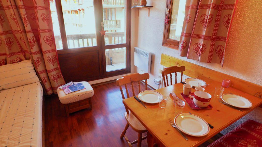 Rent in ski resort Studio sleeping corner 4 people (18) - Résidence le Thabor - Valfréjus