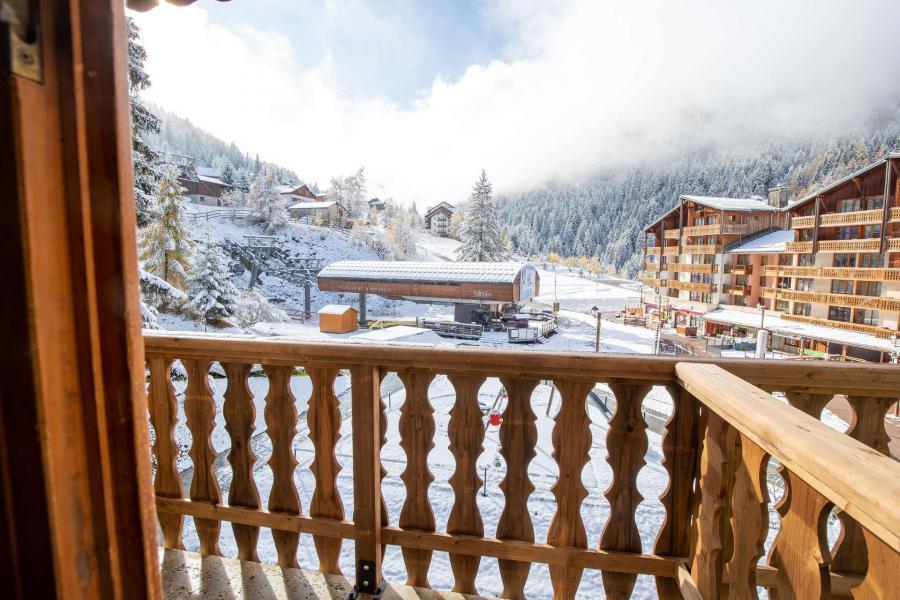 Аренда на лыжном курорте Квартира студия со спальней для 3 чел. (25) - Résidence le Thabor A - Valfréjus