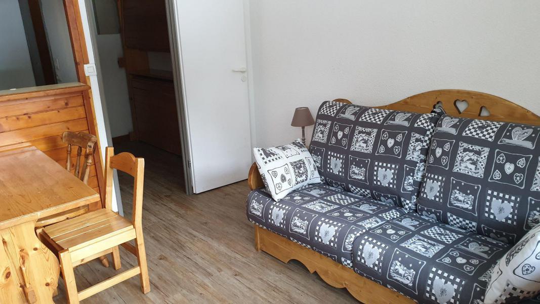 Аренда на лыжном курорте Квартира студия со спальней для 3 чел. (25) - Résidence le Thabor A - Valfréjus - Салон