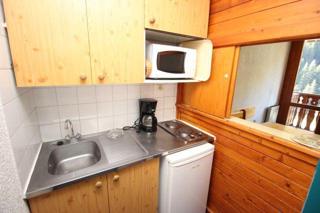 Аренда на лыжном курорте Квартира студия для 3 чел. (154) - Résidence le Thabor D - Valfréjus