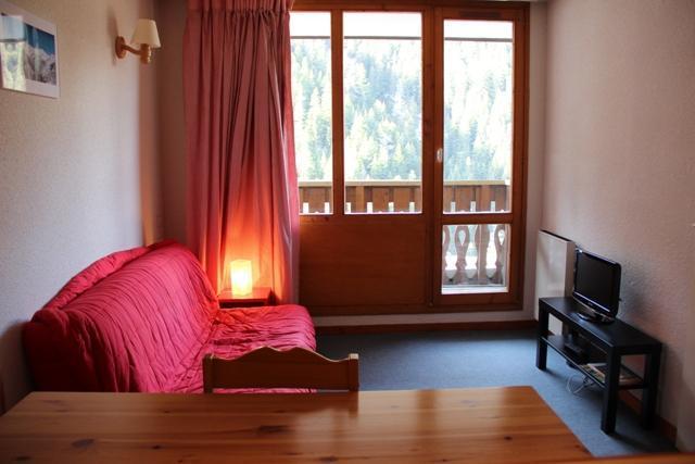 Location au ski Studio cabine 4 personnes (THAD131) - Residence Le Thabor D - Valfréjus - Canapé-lit