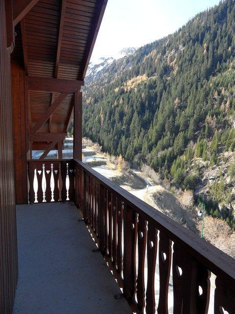 Location au ski Studio cabine 4 personnes (217) - Residence Le Thabor E - Valfréjus - Balcon