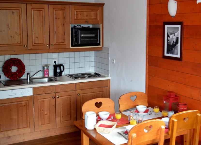 Location au ski Residence Les Chalets De La Ramoure - Valfréjus - Cuisine