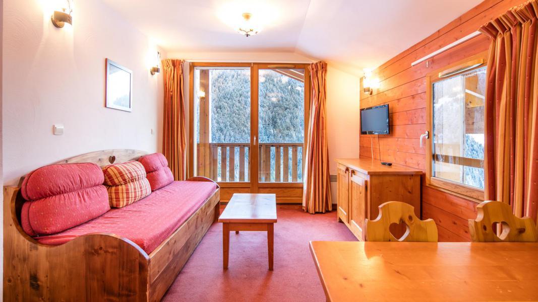 Location au ski Résidence les Chalets de la Ramoure - Valfréjus - Séjour