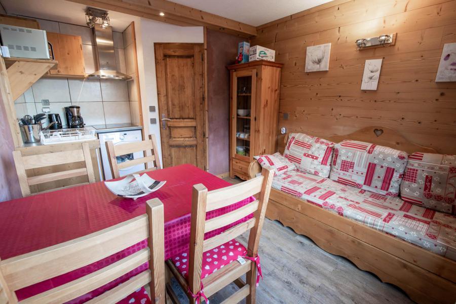Location au ski Studio 3 personnes (1566) - Résidence les Mélèzets 1 - Valfréjus - Séjour