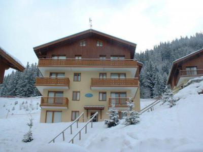 Urlaub in den Bergen 3-Zimmer-Appartment für 8 Personen (H11) - Chalet d'Arrondaz - Valfréjus - Draußen im Winter