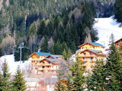 Urlaub in den Bergen Chalet d'Arrondaz - Valfréjus - Draußen im Winter