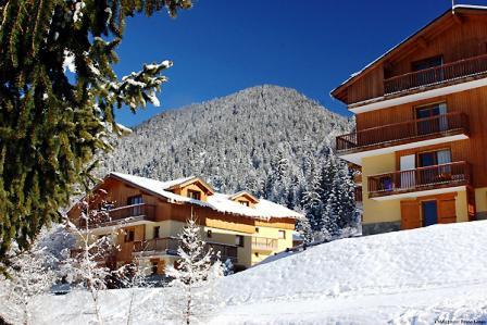 Rent in ski resort Chalets d'Arrondaz - Valfréjus - Winter outside
